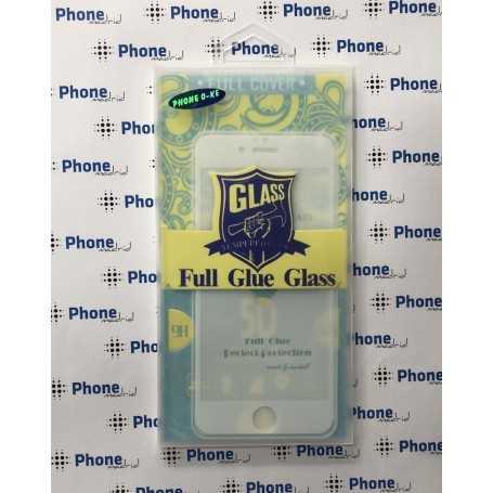 Protector Cristal Templado Blanco para iPhone 6/6S