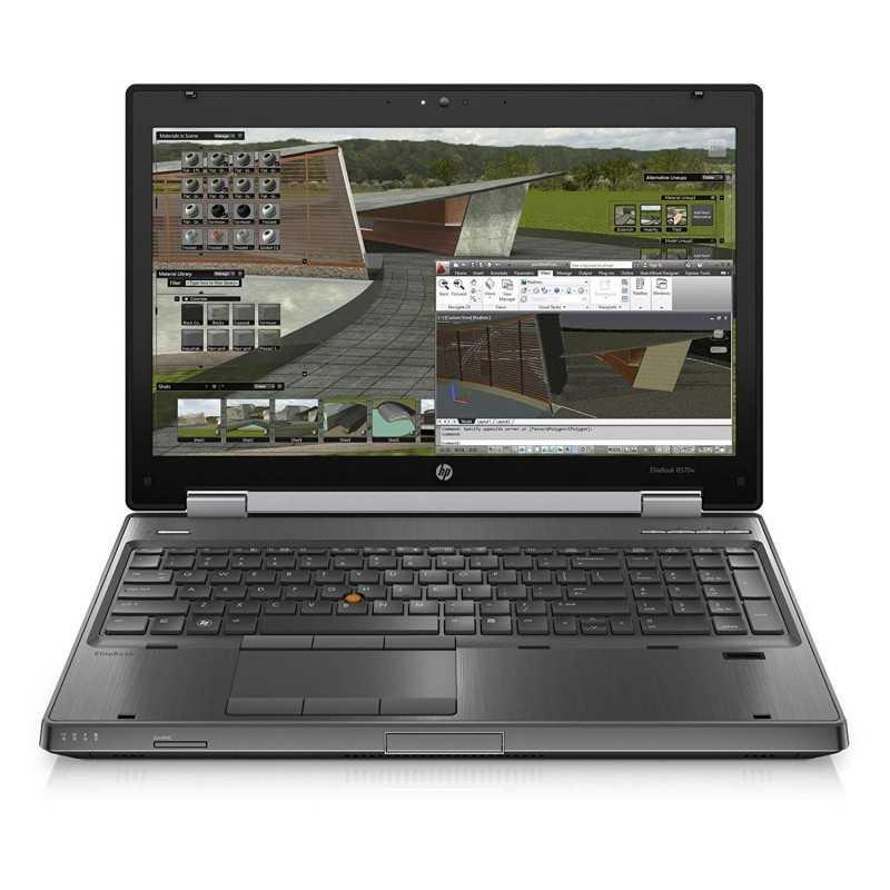 HP EliteBook 8570w - Ordenador portátil (Intel Core i7, i7-3520M, 8GB RAM,  DDR3-SDRAM, 2900MHz)