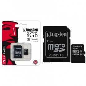 tarjeta de memoria Kingston MicroSDHC 8GB c10